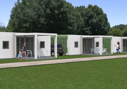 Camping hytte Funkis - Campinghytter