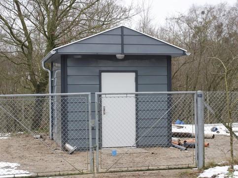 Installationsbygning, Type J - Installationsbygninger