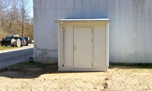 Installationsbygning, Type Væg - Installationsbygninger