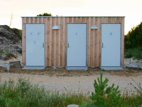 Installationsbygning, Type K – Træbeklædning - Installationsbygninger