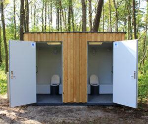 Tørkloset Dobbelt kabine - Tørklosetter