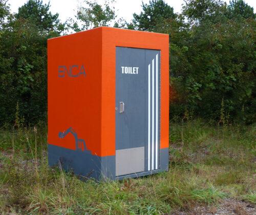 Toiletkabine - Byggeplads